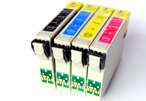 1 Full Set Compatible EPSON 29XL High Capacity Ink Cartridges (Replaces Epson T2996 Strawberry Cartridges)