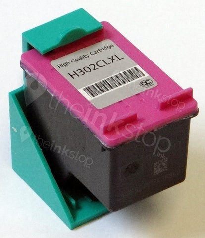 Remanufactured HP 302XL COLOUR HIGH CAPACITY ink cartridge