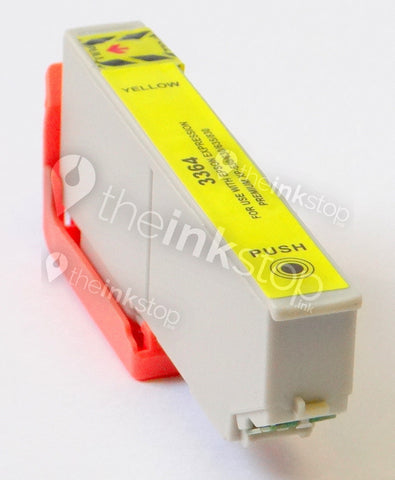 Compatible EPSON 33XL (T3364) Yellow High Capacity Ink Cartridge (CHIPPED + INK LEVEL)