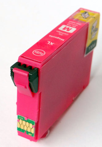 Compatible Epson Magenta 34XL High Capacity Ink Cartridges (Replaces Epson T3473 Golf Ball Cartridge)