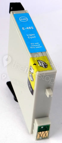 Compatible EPSON T0485 LIGHT CYAN Ink Cartridge (CHIPPED + INK LEVEL)