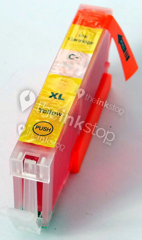 Compatible CANON CLI-571Y XL Yellow High Capacity Ink Cartridge