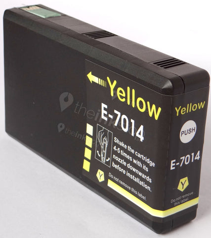 Compatible EPSON T7014XXL YELLOW HIGH CAPACITY Ink Cartridge