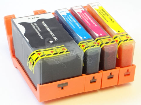 1 FULL SET Compatible HP 920XL BK/C/M/Y HIGH CAPACITY Ink Cartridges