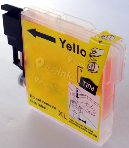 Compatible BROTHER LC1100Y XL YELLOW HIGH CAPACITY Ink Cartridge