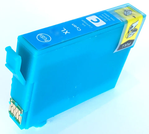 Compatible Epson High Capacity 502XL Cyan Ink Cartridge (Replaces Epson T02W2 Binoculars Cartridge)