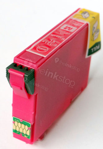 Compatible EPSON T1813XL MAGENTA HIGH CAPACITY Ink Cartridge (CHIPPED + INK LEVEL)
