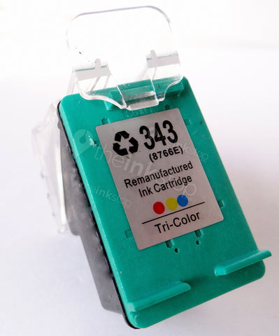 Remanufactured HP 343 TRI-COLOUR HIGH CAPACITY ink cartridge
