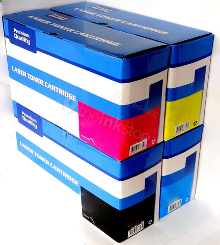 1 FULL SET Compatible HP 125A (CB540A, CB541A, CB542A, CB543A) Toner Cartridges