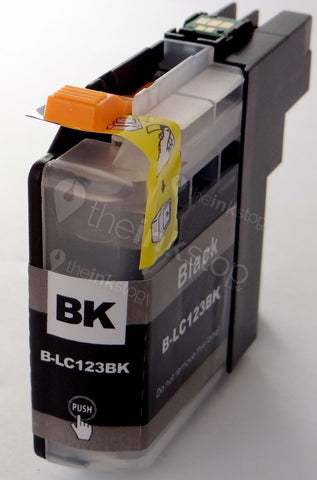 Compatible BROTHER LC123BK (new chip) BLACK Ink Cartridge