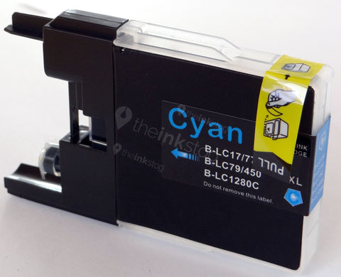 Compatible High Capcity BROTHER LC1220/LC1240/LC1280XL CYAN Ink Cartridge