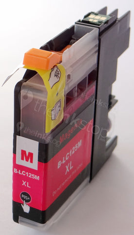 Compatible BROTHER LC125M XL MAGENTA HIGH CAPACITY Ink Cartridge