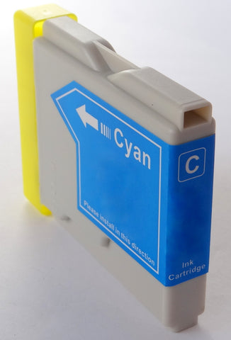 Compatible BROTHER LC1000C CYAN Ink Cartridge
