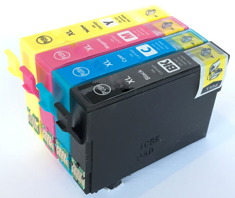 1 Full Set Compatible Epson High Capacity 502XL Ink Cartridges (Replaces Epson Binoculars Cartridges)