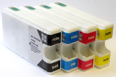 1 FULL SET Compatible EPSON T78XXL (T7891-4 XXL) Extra High Capacity Ink Cartridges