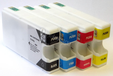 1 FULL SET Compatible EPSON T79XL (T7901/2/3/4XL) High Capacity Ink Cartridges
