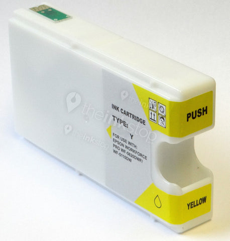 Compatible EPSON T7904XL YELLOW High Capacity Ink Cartridge
