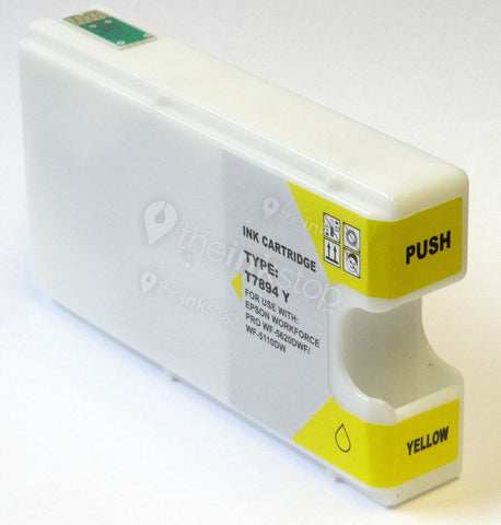 Compatible EPSON T7894 YELLOW XXL Extra High Capacity Ink Cartridge