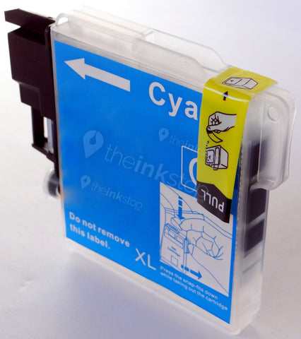 Compatible BROTHER LC1100C XL CYAN HIGH CAPACITY Ink Cartridge