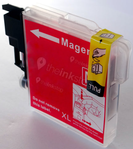 Compatible BROTHER LC1100M XL MAGNETA HIGH CAPACITY Ink Cartridge