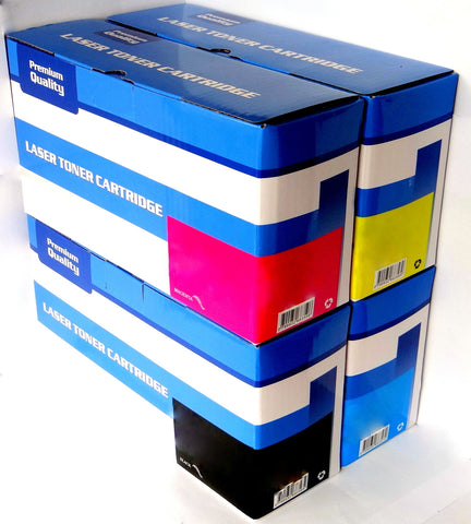1 FULL SET Compatible HP 203X (CF540X, CF541X, CF542X, CF543X) HIGH CAPACITY Toner Cartridges