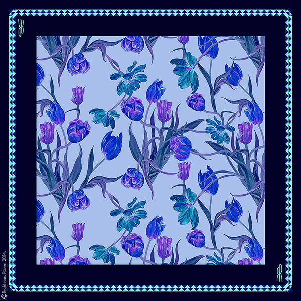 Tulips Blue Small