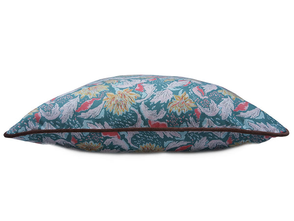 Chrysanthemum Print Cushion