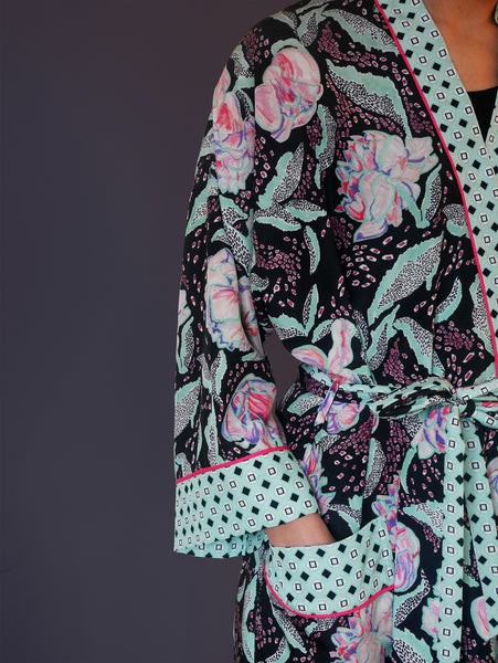 Peony Dressing Gown