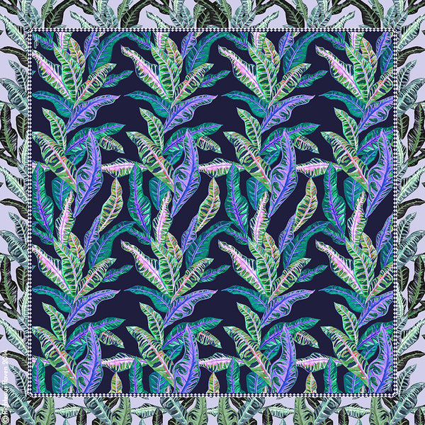 Tropical Boudoir Blue Large
