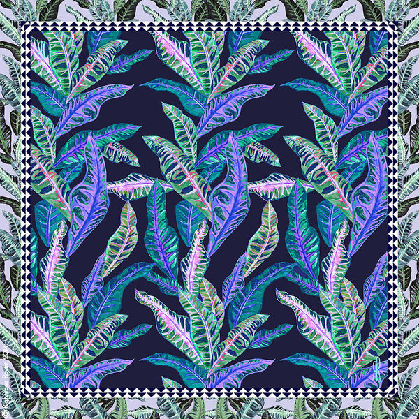 Tropical Boudoir Blue Small