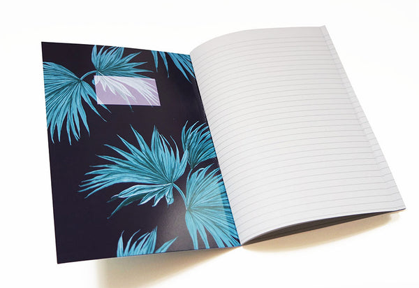 Zebra Fan Notebook
