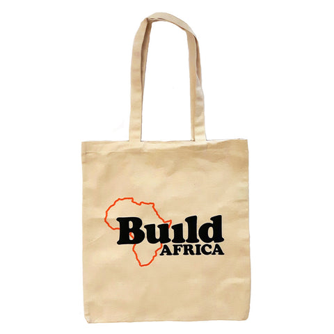 Build Africa fairtrade tote bag