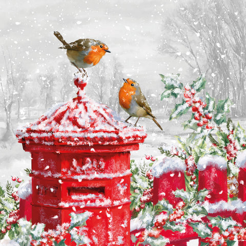 Post Box Robins