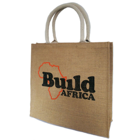 Build Africa hessian bag