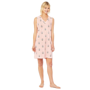 Queen Bee Pima Knit Nightgown