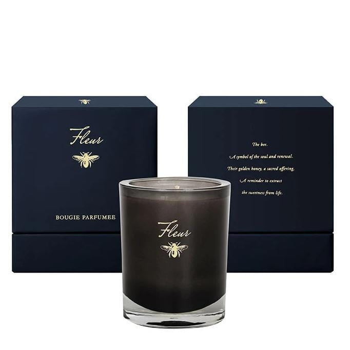 Fleur Blanche Noir Collection Candle