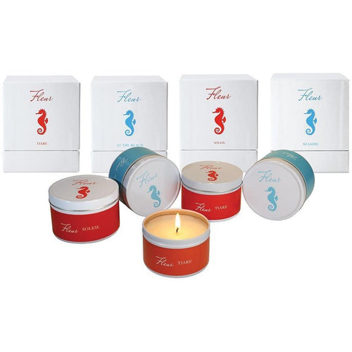 Seaside Resort Collection Tin Candle