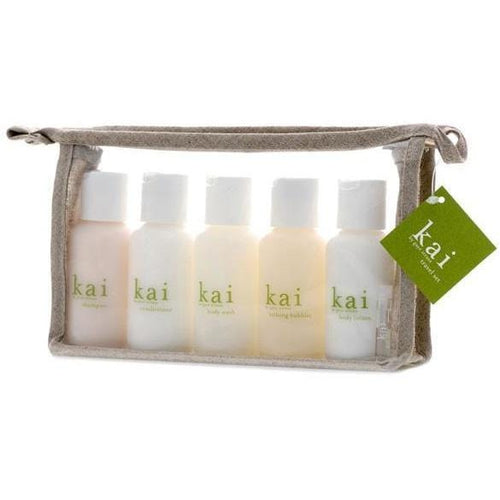 Brentwood General Store - Kai Travel Set - Bath & Body Set