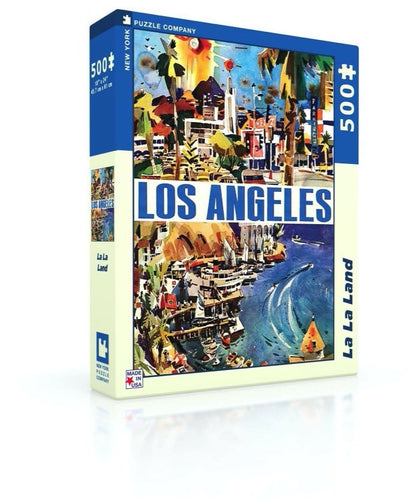 La La Land 500 Piece Jigsaw Puzzle
