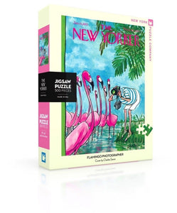 Flamingo Photographer 500 Piece Jigsaw Puzzle