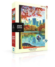 Load image into Gallery viewer, Central Park Row 500 Piece Jigsaw Puzzle
