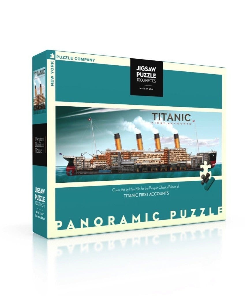 Titanic First Accounts 1000 Piece Jigsaw Puzzle
