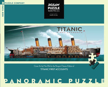 Load image into Gallery viewer, Titanic First Accounts 1000 Piece Jigsaw Puzzle