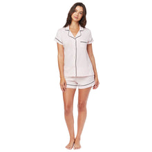 Load image into Gallery viewer, Pink Moment Pima Knit Cotton Pajama Short Set