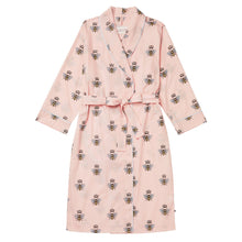 Load image into Gallery viewer, Queen Bee Luxe Pima Pink Shawl Collar Robe