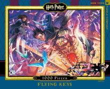 Load image into Gallery viewer, Harry Potter Flying Keys 1000 Piece Jigsaw Puzzle