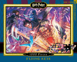 Harry Potter Flying Keys 1000 Piece Jigsaw Puzzle