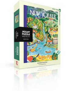 Summer Vacation 500 Piece Jigsaw Puzzle