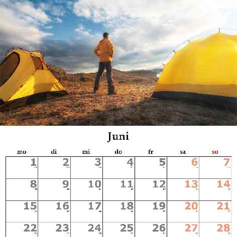 Camping Opening dates