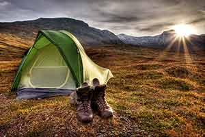 Autumn Camping Iceland